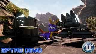 Unreal 4 Engine [ 4.10.2 ] Spyro Demo