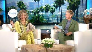 getlinkyoutube.com-Jane Fonda and Ellen Play 'Never Have I Ever'