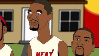 getlinkyoutube.com-Lil Wayne meets the Heat