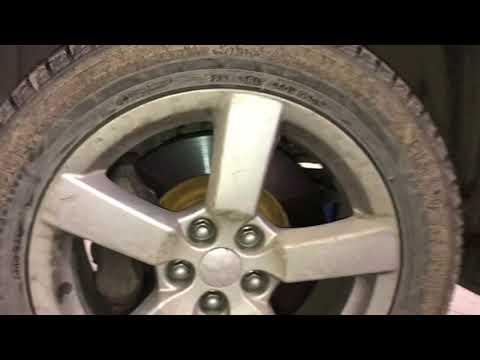 Передние тормоза на Mitsubishi Outlander XL