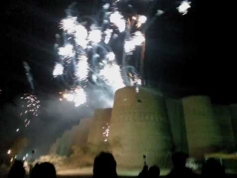 Bahawalpur Jeep Rally 2012 at Fort Derawar.wmv