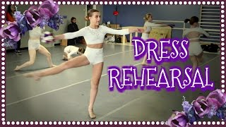 COMPETITION DANCE DRESS REHEARSAL