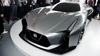 Nissan Concept 2020 Vision GranTurismo - Global Unveiling