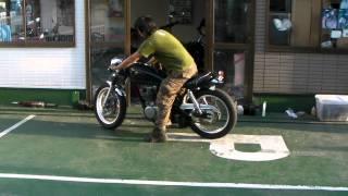 getlinkyoutube.com-ヤマハ 1JR SR400 カフェレーサー