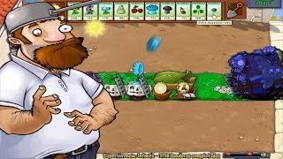 getlinkyoutube.com-Plants vs. Zombies Supervivencia Infinito 1 Mazorcañon