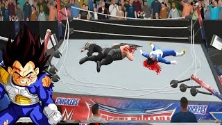 """""""VEGETA Rompe el Ring de la WWE"""" - (OMG WWE Moments Dragon Ball Super)"""