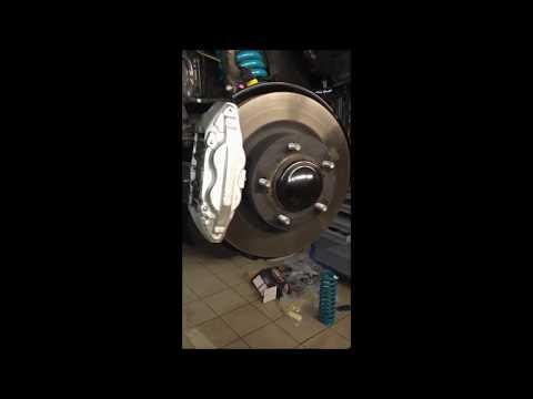 Замена подвески на Toyota Tundra