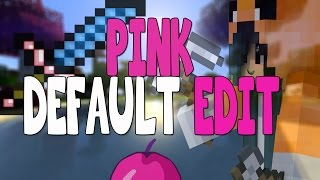 getlinkyoutube.com-PINK DEFAULT EDIT | PVP RESOURCE PACK | 1.7.X / 1.8.X | NO LAG | LOW FIRE | CLEAR INVENTORY