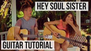 getlinkyoutube.com-Hey Soul Sister - Train // Guitar Tutorial