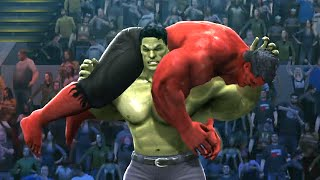 getlinkyoutube.com-HULK VS RED HULK - Hell In A Cell Match - EPIC Battle - WWE 2K14