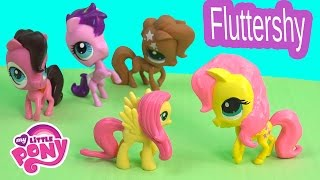 getlinkyoutube.com-DIY My Little Pony Fluttershy Inspired MLP LPS Littlest Pet Shop Fun Toys Clay Custom Craft Video