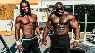 getlinkyoutube.com-SUPERHUMAN BODYWEIGHT WORKOUT | Kali Muscle + Alseny
