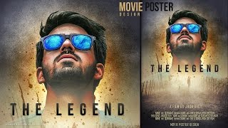 Make a Movie Poster With Texture Background In Photoshop
