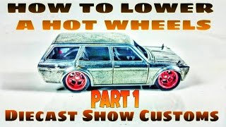 getlinkyoutube.com-HOW TO LOWER A HOT WHEELS PART 1 ✔