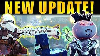 getlinkyoutube.com-Destiny: NEW UPDATE! New Exotics, Sparrow Racing, Quests & More! | The Dawning