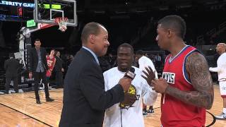getlinkyoutube.com-NBA ALL-STAR 2015: ANTHONY ANDERSON, KEVIN HART, NICK CANNON & SKYLAR DIGGINS