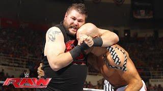 getlinkyoutube.com-Cesaro vs. Kevin Owens: Raw, July 11, 2016