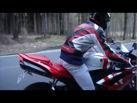 My Yamaha R1 with modified exhaust sound - Haga Edition