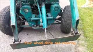 getlinkyoutube.com-Some delicate features on my friend´s homemade tractor