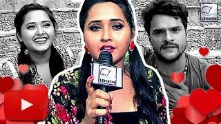 getlinkyoutube.com-Kajal Raghwani's SHOCKING Comment On Her Love Affair With Khesari Lal    Lehren Bhojpuri