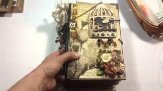 getlinkyoutube.com-Vertical Paper Bag Mini Album Part 1