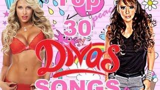 getlinkyoutube.com-Top 30 WWE Divas Theme Songs of all time ( titantron )