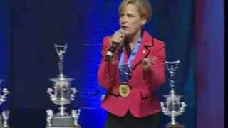 Kristine Fladeboe-Duininck, BAS, 2010 International Auctioneer Champion