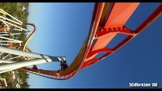 getlinkyoutube.com-[HD] FULL Silver Bullet Ride-through POV - Knott's Berry Farm - similar to Banshee