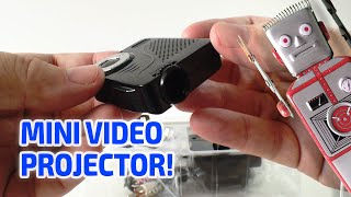getlinkyoutube.com-TINY REAL WORKING VIDEO PROJECTOR - Really works but in miniature!