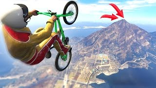 getlinkyoutube.com-IMPOSSIBLE BMX FLIGHT CHALLENGE! (GTA 5 Funny Moments)