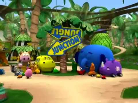 Jungle Junction - Music Video Theme Song - Disney Junior Official