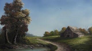 getlinkyoutube.com-Paint with Kevin Hill - Road through the Farm