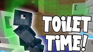 getlinkyoutube.com-Minecraft - Attack Of The B Team - Toilet Time!! [81]
