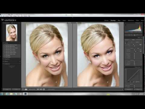 How I Shot and Edited this Wedding Portrait in Lightroom 4