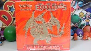 getlinkyoutube.com-Opening The Best Charizard Evolutions Elite Trainer Box!!!