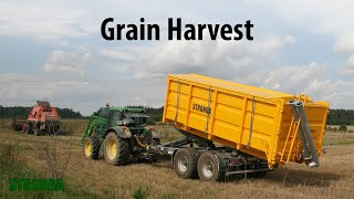 Stronga HookLoada 180 T trailer - Innovative hook lift system grain harvest