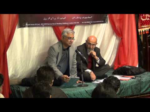 Hilal Fareed in Milad Yaum e Batool, London