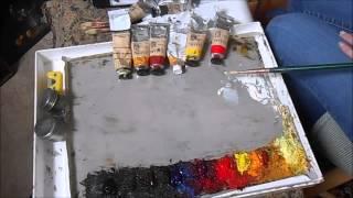 getlinkyoutube.com-Materials for Oil Painting - Alla Prima Technique