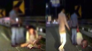 getlinkyoutube.com-심야 도로서 폭행 당하는 여성 도운 '용감한' 남성 / 연합뉴스TV (Yonhapnews TV)