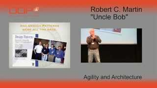 "OOP 2015 Keynote - Robert C. Martin (""Uncle Bob""): Agility and Architecture"