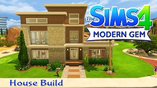 The Sims 4 House Build - Modern Gem Family Home