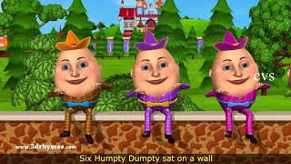 getlinkyoutube.com-Humpty Dumpty Nursery Rhyme - 3D Animation English Rhymes for children