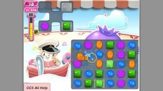 getlinkyoutube.com-Candy Crush Saga Level 606 3* NEW