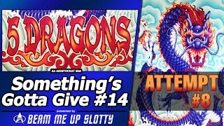 getlinkyoutube.com-Something's Gotta Give #14 - Attempt #8 on 5 Dragons Slot by Aristocrat