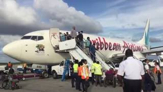 getlinkyoutube.com-Caribbean Airlines flight 526 Port of Spain to Georgetown Guyana