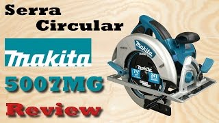 getlinkyoutube.com-Serra circular makita 5007MG - Review