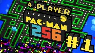 getlinkyoutube.com-Pac-Man 256 - #1 - Wakka Wakka (4 Player Gameplay)