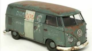 Hasagawa 1967 Volkswagen type 2 Delivery Van 1-24 scale part 2.
