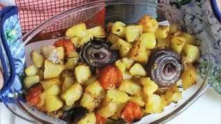 Pieczone ziemniaki (patate alla burina)