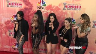 getlinkyoutube.com-'Fifth Harmony' arrive at 2015 iHeartRadio Music Awards Red carpet
